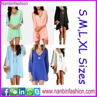 2015 hot summer one piece slip latest casual dress designs