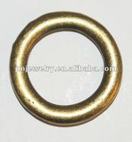 Metal ring jewelry accessory with mangalsutra design