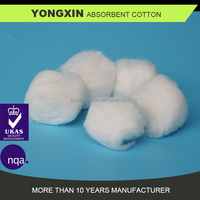 Economical medical pure cotton wool ball for health care, non sterile,1.0g,200g/bag