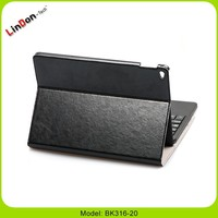 For iPad Air 2/iPad 6 Bluetooth Keyboard Portfolio Leather Ultra Smart Shell Stand Cover Detachable Keyboard