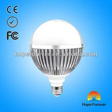 2013 hot sale AC85~265V CE & ROHS certified 3 year warranty 10pcs SMD5630 Warm white E27 LED Bulb