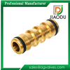 JD-45203 Quick coupling hose connector / Quick Connect Hose fitting / Brass hose coupling