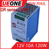 Hot sale 120w 12v 10a Din Rail switching power supply Of DR-120-12