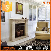 stone fireplace beige micro marble fireplace surround stone fire place