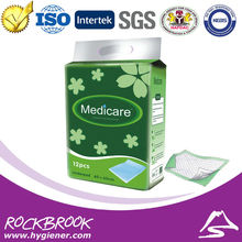 Super Absorbent Disposable Underpad Manufacturer Medical Under Pad Hospital Incontinence Bed