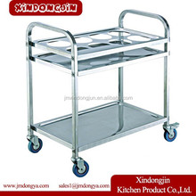 DR-M3 housekeeping equipment coffee carts for sale food serving trolley