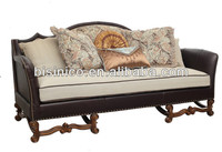 Antique arab sofa set for living room furniture with wooden carved