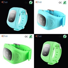 Fashion Type real time tracker garmin gps watch with SOS for smartphone