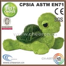 Hot item stuffed cute green turtle toys