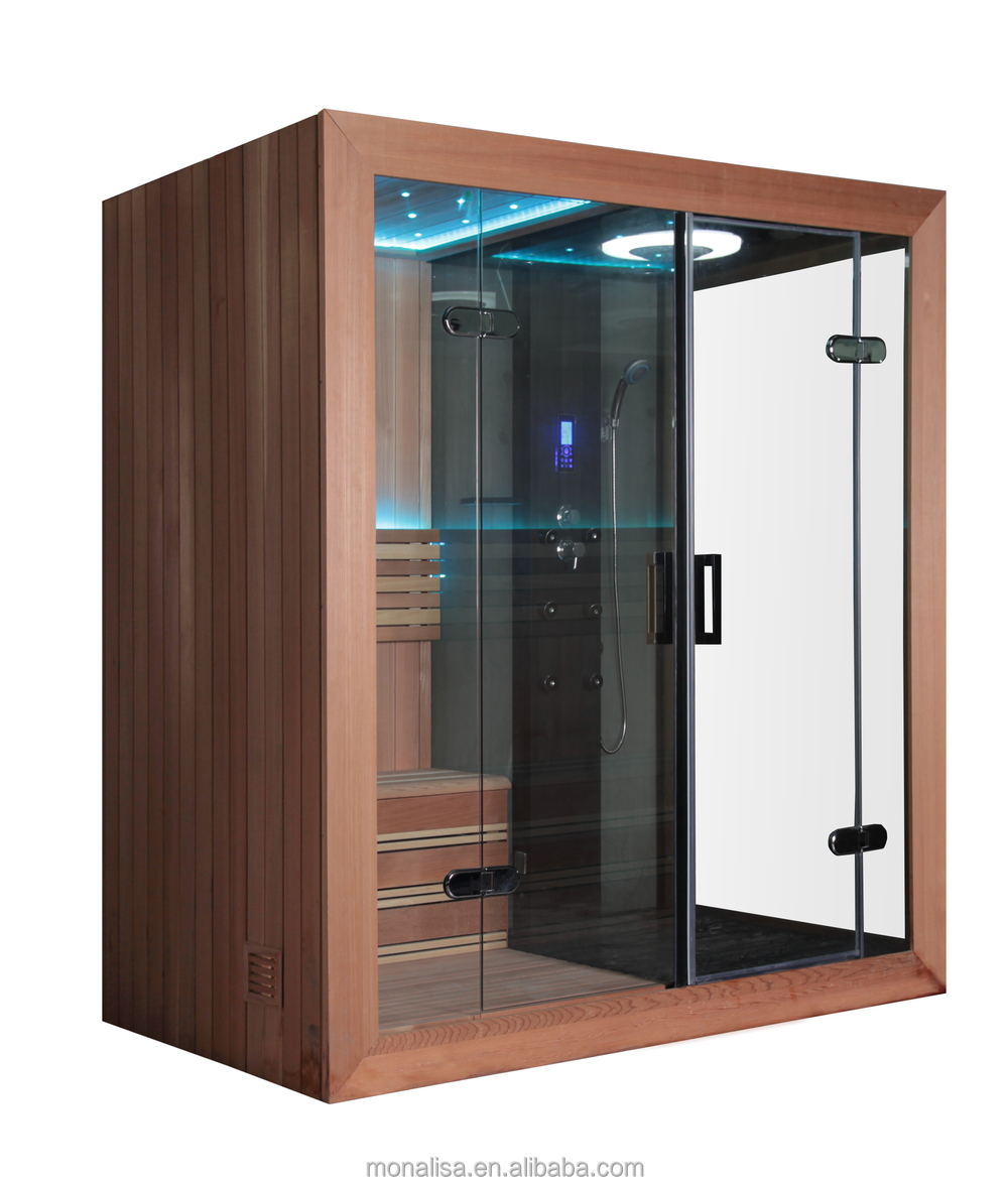 Monalisa Steam Shower Sauna Combos, Portable Steam Sauna, Cedar ...
