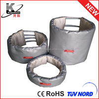 High quality removble water and fire proof pipe insulation cover