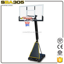 professional official standard basketball stand to do exercise