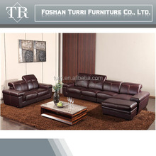 K109 High quality living room couch furniture simple design leather sofa modern sofa set