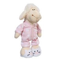 wholesale china stuffed plush baby lamb doll