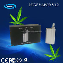 Say no to plastic odor, fully aluminum vaporizer carbon fiber vaporizer with ceramic chamber and glass mouthpiece