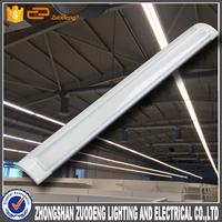 new design led batten lamp double surface 4ft 5ft 6ft t12 led tube light