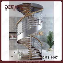 small cast iron spiral stair with cover china demose