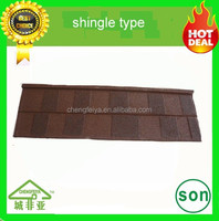 wholesale stone coated roofing sheet shingle type