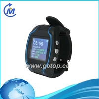 Personal gps adult watch tracker with talking buttons (TV-680)