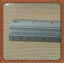 30cm Beautity New Style Aluminum Scale French Curve Ruler