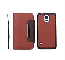 Brown leather case for Samsung galaxy S5