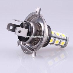 CE and ROHS 12V&24V 18PCS 5050 SMD led auto light h1 h7 h4,3 years warranty