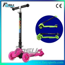 Fasy Hot Kids Toys 3 Wheel scooter kids Cheap Manufacture