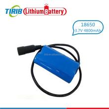 18650 Li-ion Battery for Led Camping Lantern in 1S2P 3.7v 4800mah
