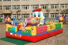 cartoon inflatable bounce, kids inflatable bounce bed