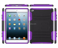Tough duty stand hybrid defender armor cover for iPad mini 4 Pad accessory