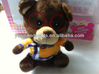 2016 New Factory WhoseSale noise making toys fur fabric making soft toys lovely minion plush toy