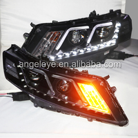 For HONDA Crosstour LED Head Lights front lamp 2012 to 2015 year led car lights