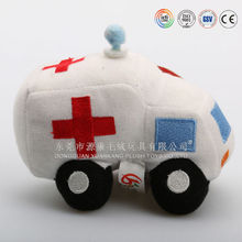 Customized cute lovely plush toy cars for babies