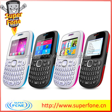 D101 2.0 inch Chinese Dual Sim Bar Phone Large Qwerty Keyboard Cell Phone For Sale