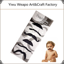 High quality wholesale kids party fake mustache beard black funny synthetic beard
