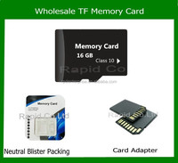 China Factory Cheap Prices High quality micro TF / sd memory cards 16gb 32gb 64gb class 10 wholesale