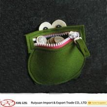 Handmade Coin Kids Purse Cute Gifts Collectible Felt Wallet