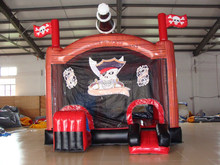 High Qaulity And Cheap Price Inflatable Bouncer Pirate Ship Bounce House For Kids Play