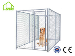 New design unique galvanized cheap chain link dog kennels