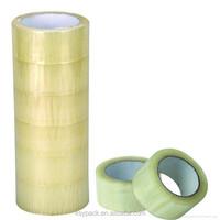 KSY Premium Carton Packing Tape 2.0 mil 165 Feet (55 yards) - Clear - 1 Case (36 Rolls Total)