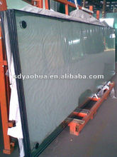 long size window and door glass low-e insulated glass with clear/ultra clear/F green/blue/grey colors
