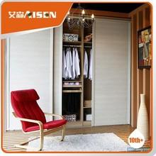 Fully stocked double door wardrobe design