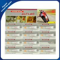 502 Super Glue Cyanoacrylate Adhesive of China OEM Manufactory