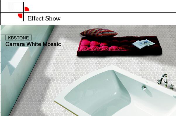Plaza de baldosas de m rmol de carrara blanco pared y - Limpiar marmol blanco exterior ...