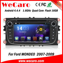 Wecaro HD 7 inch Capacitive screen Android 4.4.4 WIFI+3G car dvd player gps navigation for ford MONDEO 2007 2008 2009