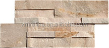 pink stacked decoratiive slate culture stone wall tiles,cube