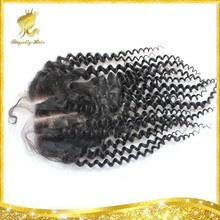 Good quality Royally Hair 4*4 lace closure 8-20 inch unprocessed Mongolian virgin hair lace closure with baby hair