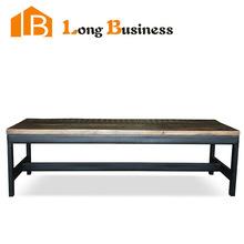 LB-AL5124 VINTAGE INDUSTRIAL COFFEE TABLE