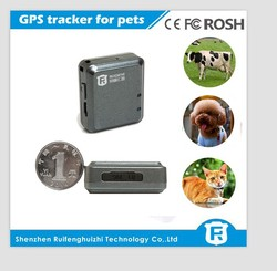 small gps cat tracker for persons and pets with Android or iOS APP, long battery life and geofence alarm