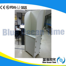 Foldable one person corrugated plastic polling booth ,voting booth